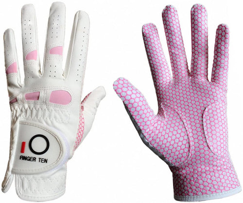 Women's Golf Glove Weathersof Pro Grip 1 Pack Left Right Hand - fingertensport