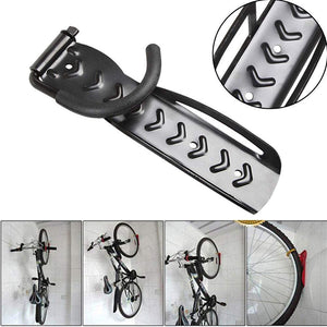 Bike Wall Hanger Hook Rock Support Storage Adjustable for Mount Bicycle Cycle Indoor Shed to Save Space 2PCS