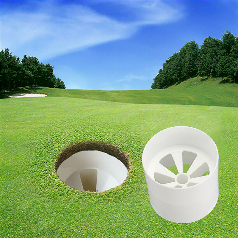 Golf Hole Cup Putting Putter Yard Garden Training Backyard Practice Christmas US - fingertensport