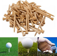 Load image into Gallery viewer, Golf Tees Wood 250/500 Count Free Tee Holder Ball Marker - fingertensport