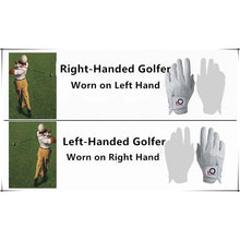 Load image into Gallery viewer, Men's Golf Glove with Ball Marker 1 Pack Left/Right Handed - fingertensport