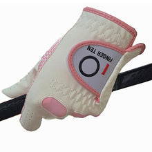 Load image into Gallery viewer, Women's Golf Glove Weathersof Pro Grip 1 Pack Left Right Hand - fingertensport