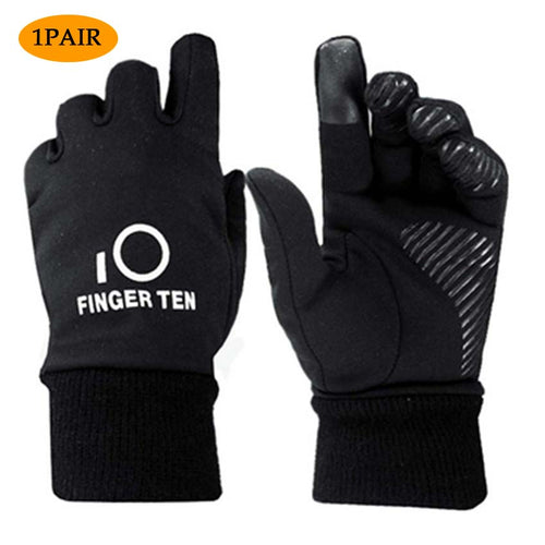 Kids Winter Gloves Warm Outdoor Sports Touch Screen 1Pair - fingertensport