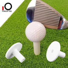 Load image into Gallery viewer, FINGER TEN Golf Rubber Tees Driving Range Value 3/4 Pack, Mixed or Same Size 1.5'' 2.25'' 2.75'' 3'' for Practice Mat