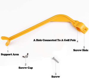 Golf Swing Trainer Tool For Beginner Gesture Alignment Correction Practice Traning Aids Fit Men Women Kids Golf Accessories