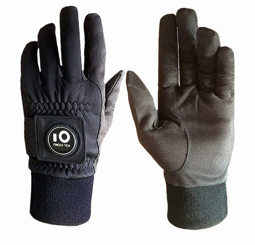 Winter Golf Gloves Men with Ball Marker 1 Pair Waterproof - fingertensport