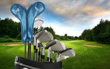 Load image into Gallery viewer, Golf Iron Head Covers 9 Set 3 4 5 6 7 8 9 for Both Left and Right Handed, Deluxe Club Headcovers