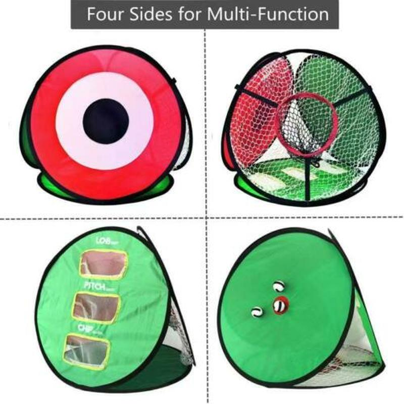 Outdoor Supersized Golf Practice Net Driving and Chipping Cage Training Aid