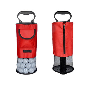 Golf Ball Retriever Portable Pocket Pick-up Shag Bag - fingertensport