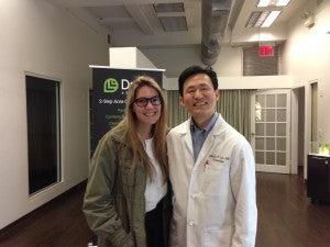 Dr. Lin and Joy Hernon from Marie Claire