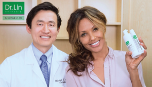 Meet Dr. Michael Lin with Celebrity Actress KD Aubert | Best Acne Skincare Products
