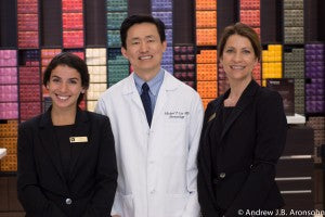 Nespresso Team with Dr. Michael Lin