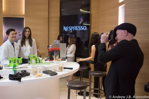 Nespresso Event with Dr. Michael Lin Skincare