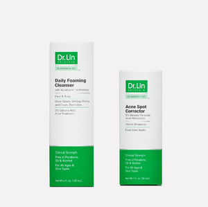 2 Step Acne Clarifying Kit (For Mild or Occasional Acne)