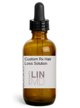 Custom Rx Hair Loss Solution Refill - Dr. Lin Skincare