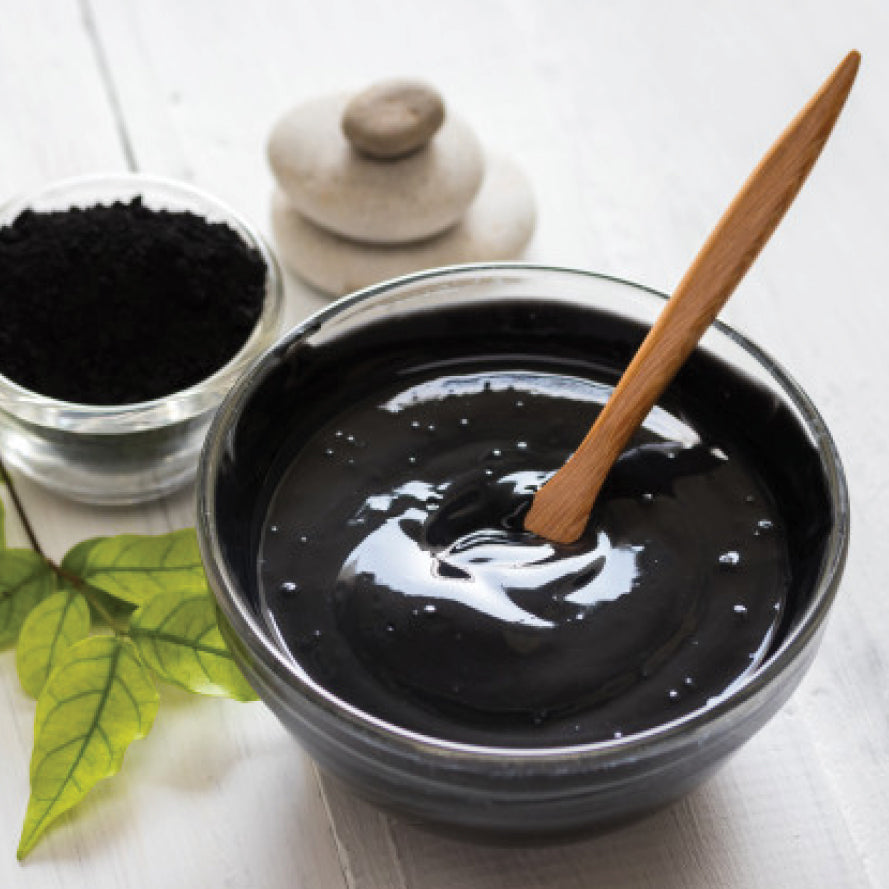 NEW! Natural Mud Mask with Activated Charcoal + Tea Tree Oil 4 oz