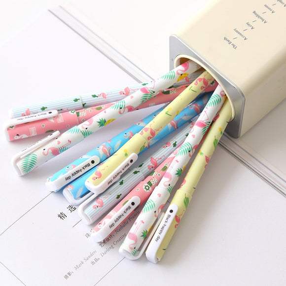Unicorn or Flamingo Gel Pen Set