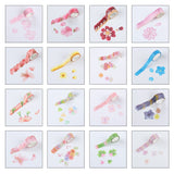 200 Pieces per roll Flower Petals Stickers
