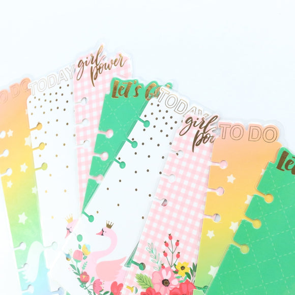 Planner bookmarks
