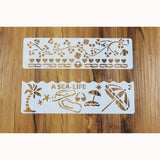 12 Piece Set All Occasions Stencils