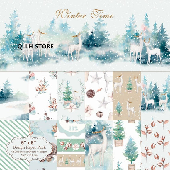 Winter Time Paper Pack