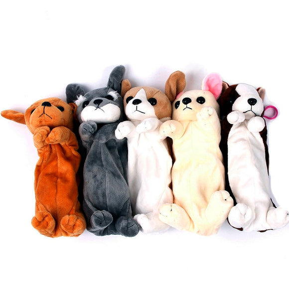 Plush Dog Pencil Case