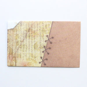 Vintage Craft Paper Envelope