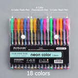 Color Gel Pen Set