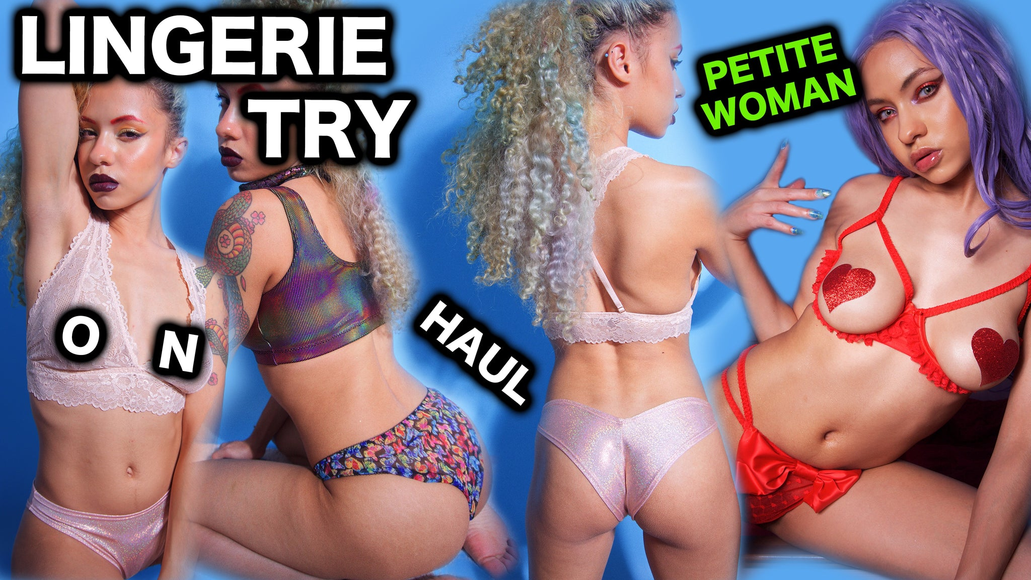 LINGERIE TRY ON Petite Clothing HAUL 2020 SAVAGExFENTY review FreedomRaveWear PETITE WOMEN Clothing