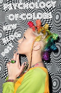 Psychology of Colors Rainbow Mohawk Hair Buns Rainbow Hair