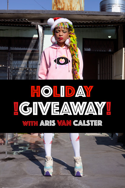 Holiday Giveaway With Aris Van Calster!