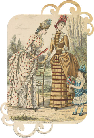 1800's women peplum dresses