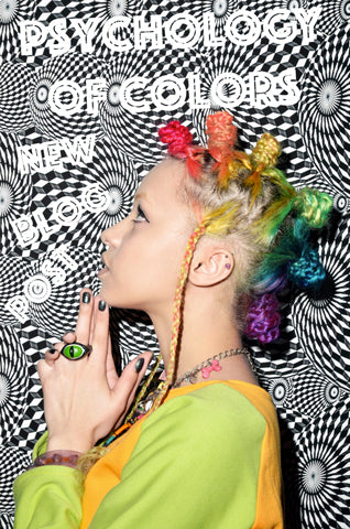 Rainbow Mohawk Hair Buns Rainbow Hair Braids Snake Eye Ring