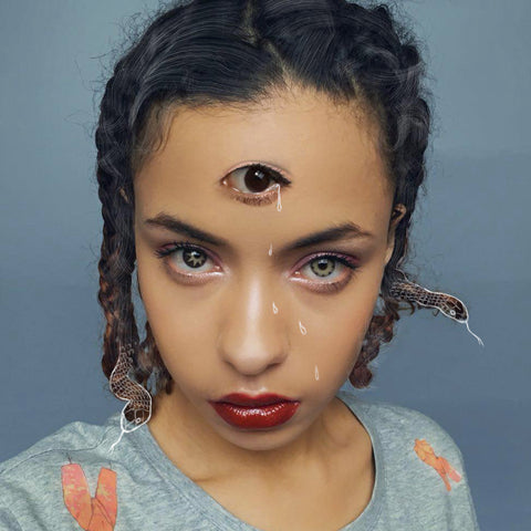 Third Eye Medusa Snake Hair