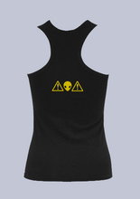 Load image into Gallery viewer, Alien Warning - Cotton Tank Top
