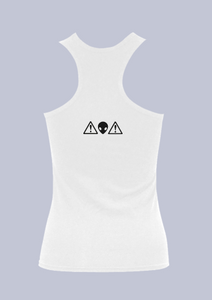 Alien Warning - Cotton Tank Top