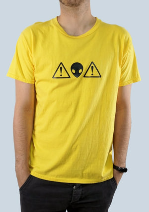 Alien Warning Graphic Tee - Men