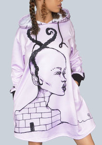 Lucid Dreamers - Oversized Hoodie Dress