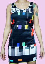 Load image into Gallery viewer, TV PAL Test Dress front