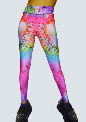 Egyptian Bliss - Rainbow Leggings - Front