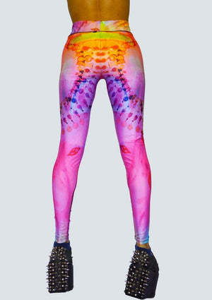 Egyptian Bliss - Rainbow Leggings - Back