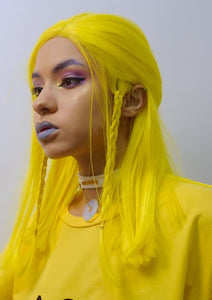Banana Pocky - Yellow Front Lace Wig