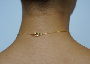 Anyixin Golden Chain Choker