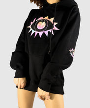 Load image into Gallery viewer, Elbow Vision Hoodie - Black