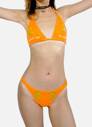 Double Tap Hands Bikini - Orange
