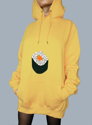 Maki Roll Belly - Kawaii Hoodie