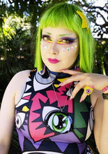 Load image into Gallery viewer, Eye See You Rainbow Dress @xxanemia