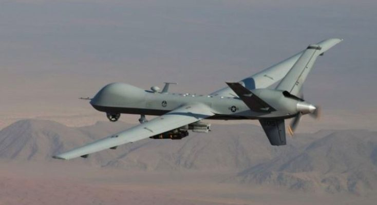 U.S. Airstrike drone on taliban