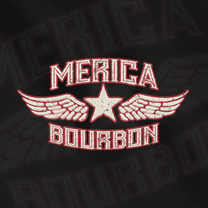 Merica Bourbon Wing Design