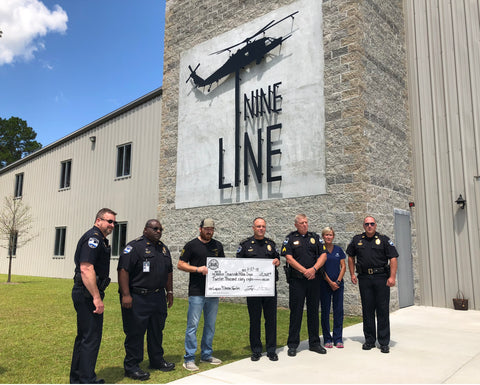 Nine Line Apparel supports the Thin Blue Line